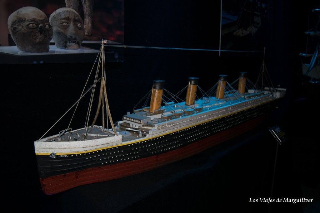 Exposicion Cuarto Milenio, El Titanic - Los viajes de Margalliver